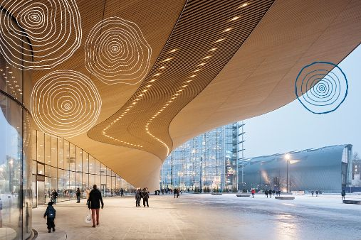 Image of blog post Finland's ode to literacy: Helsinki Central Library Oodi
