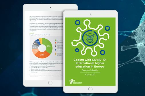 Image of blog post New EAIE report on the impact of COVID-19