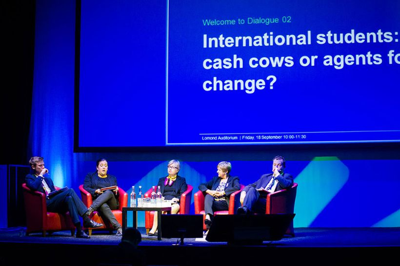 International students: cash cows or agents for change?