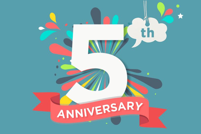 Blog anniversary: Our 5 most popular blog posts of all time
