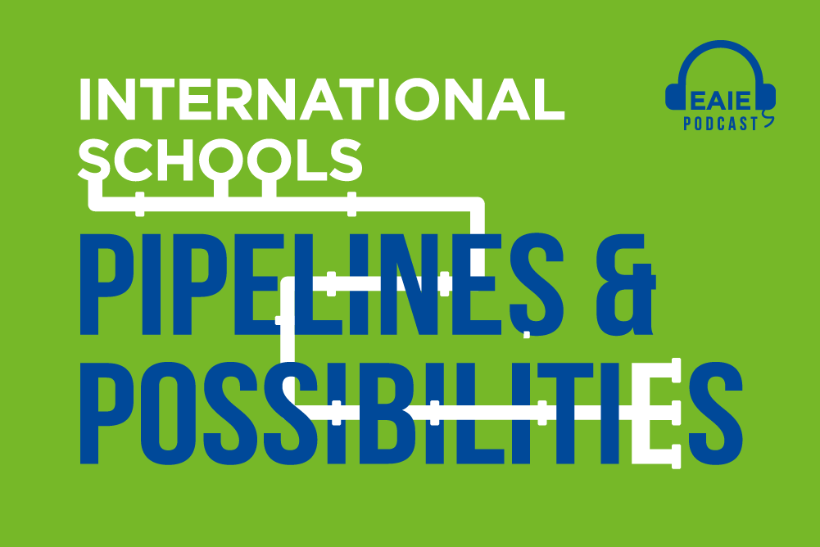 Nico Evers: International schools – pipelines and possibilities