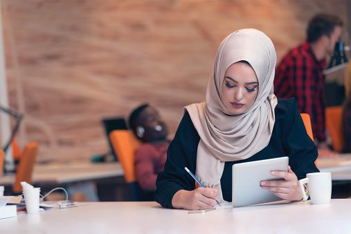 Image of blog post Language development for female students abroad