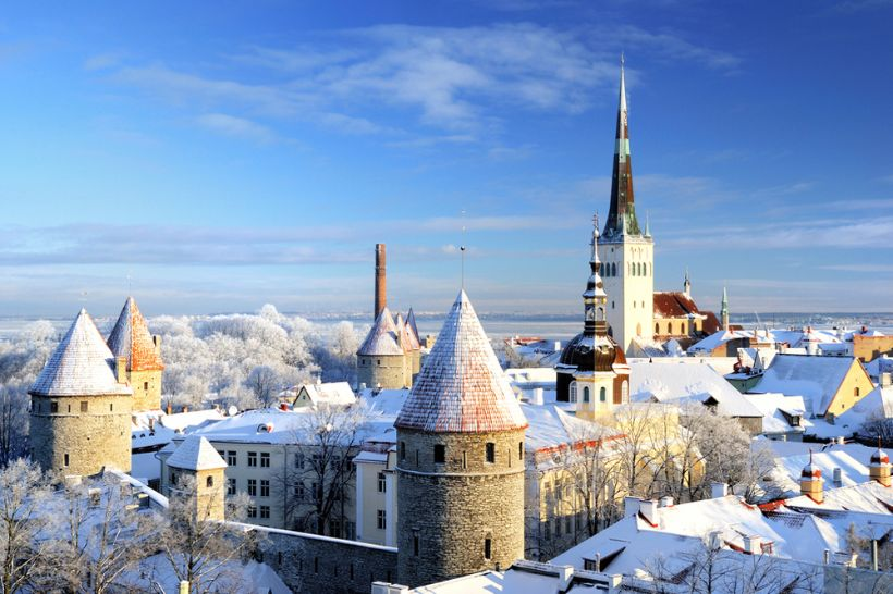 Enjoy the magic of a fairy tale city: Tallinn