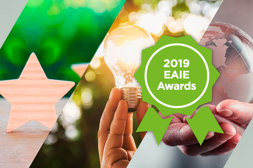 A new era of excellence: the 2019 EAIE Award winners